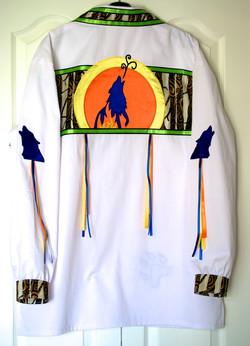 wolf ribbon shirt