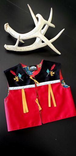 child's ribbon vest