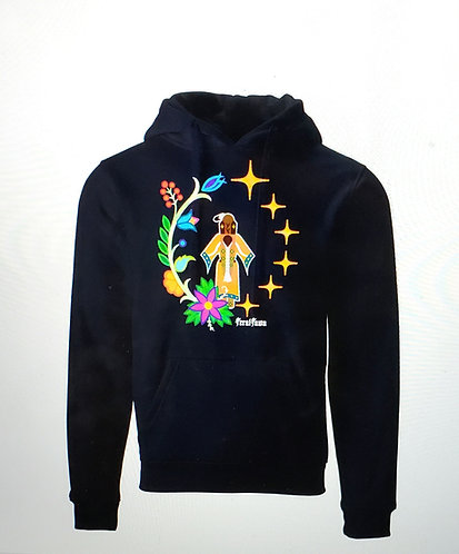 Woman Who Married A Star Black Hoodie