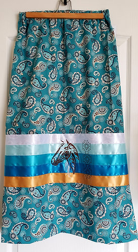 Horse Bandana Ribbon Skirt