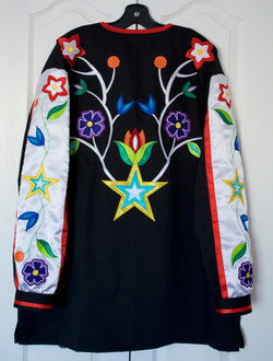 Floral Applique Shirt
