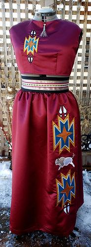 Bison Skirt and Top