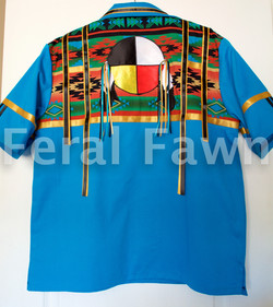 medicine wheel ribbon shirt