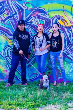 Feral Fawn Streetwear with dog
