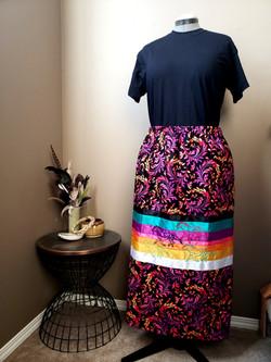 running horses ribbon skirt