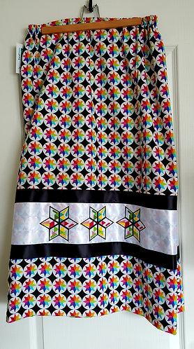 Star Blanket Ribbon Skirt