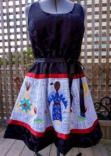 Ledger Art Dress
