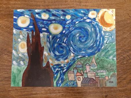 Starry Night by Megan Murphy (Ms. Reen's 5th Class)