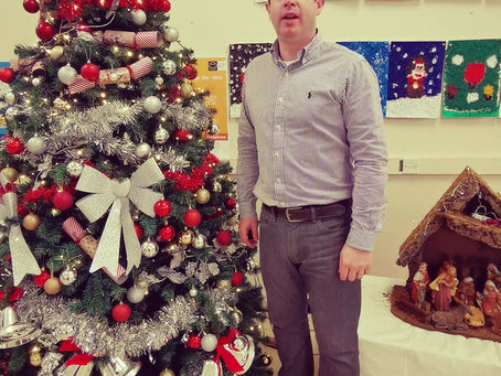 A Christmas message from Mr. Sheehan.