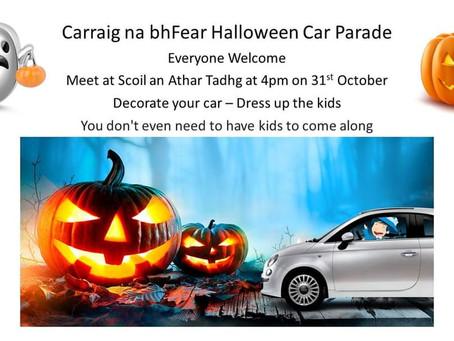 Halloween Car Parade!