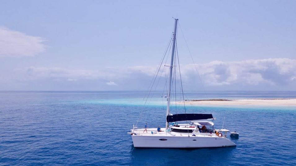 60ft Zanzibar Yacht Charter Catamaran