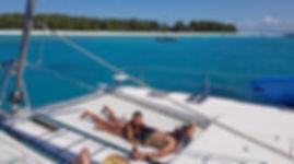 Sunbathe on board Zanzibar Charter Yacht
