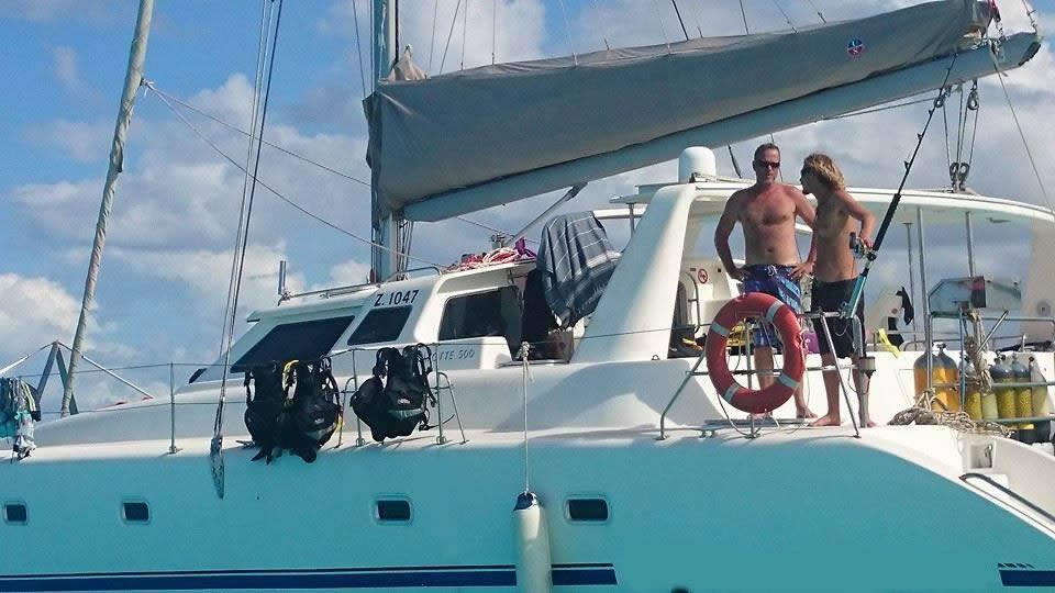 50ft Yacht Charter Catamaran Zanzibar