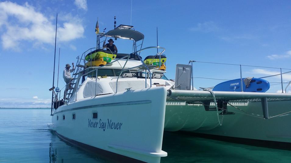 40ft Zanzibar Charter Catamaran Yacht