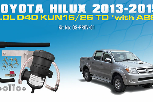 Toyota Hilux N70 2013-15 - ProVent Oil Catch Can Kit