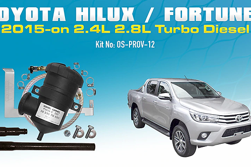 Toyota Hilux/Fortuner 2015 - on - ProVent Oil Catch Can Kit