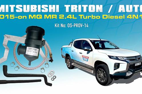 Mitsubishi Triton 2015-on - ProVent Catch Can Kit