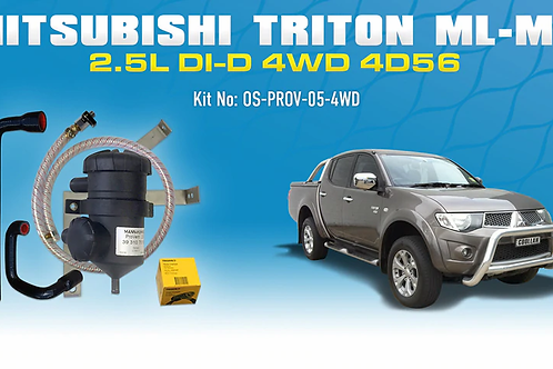 Mitsubishi Triton 2006-15 - ProVent Catch Can