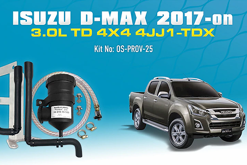 Isuzu D-MAX 2017-on - ProVent 200 Catch Can Kit
