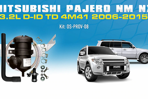 Mitsubishi Pajero NM NX 2006-2015 - ProVent Oil Catch Can Kit