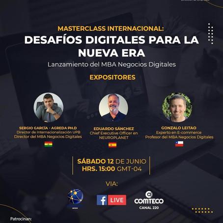 Nuevo MBA En Negocios Digitales