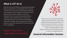 New Events from the Rutgers CSE Hub!