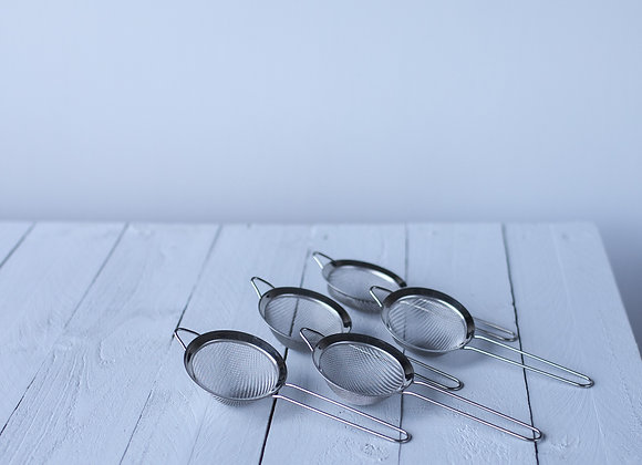 5 x Strainer for Tea & Spice Handcrafted 'Wet' Chai