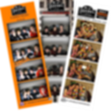 Customised branded photo strips