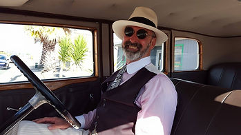 Art Deco Car hire in Napier New Zealand