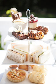 A tower of delectable High Tea Treats