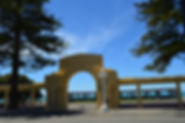 Napier arches are part of the story of the Art Deco rebuild after the earthquake.