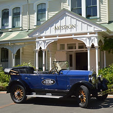 Stop at Mission Estate winery on our Wine tasting tour