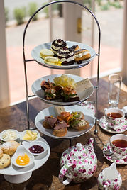 An exquisite High Tea as served at Mangapapa Hotel