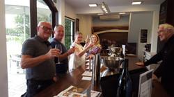 Wine tasting at Crossroads Winery NZ