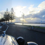 Driving into Ahuriri, soak up the views across the Bay
