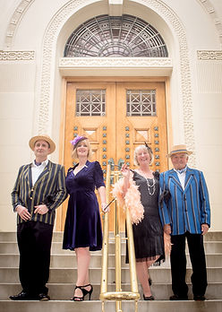 A great day out getting dress in Art Deco clothes and enjoying a photo shoot