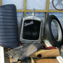 Hupmobile parts just waiting to show visitor the sights of Napier