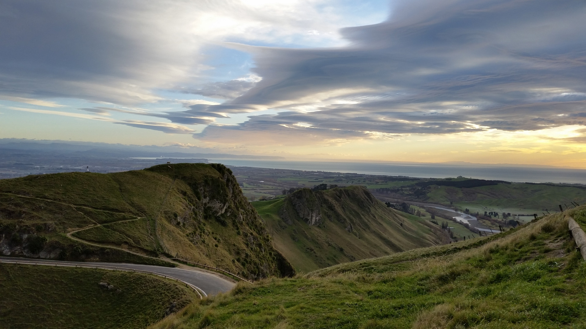 The beatutiful Te Mata Peak Park in Hastings