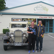 A stop at the Silky Oak Chocolate shop is a must!