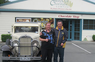 What better than a stop at Silky Oak Chocolate factory