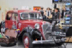 Classic car photobooth