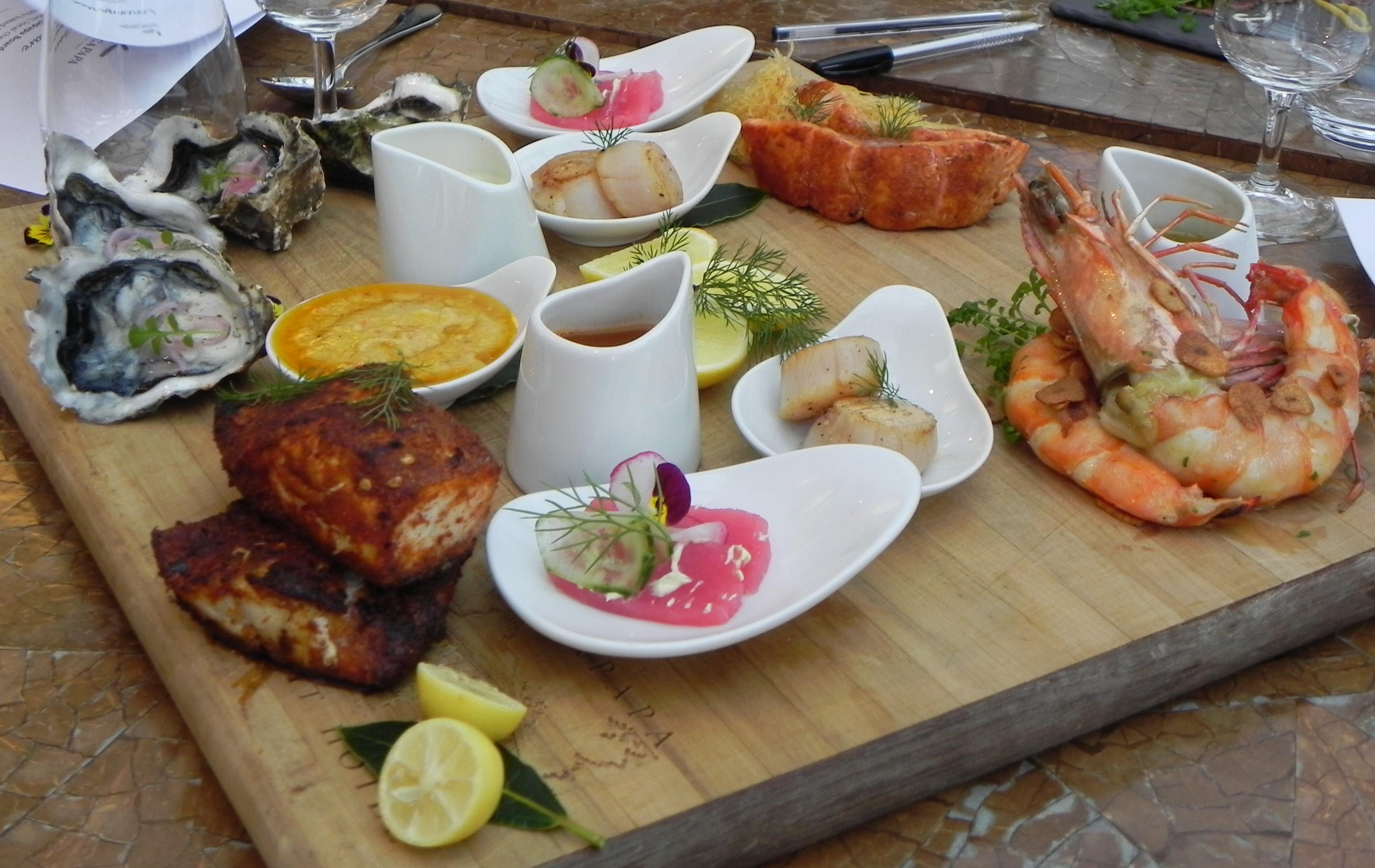 Luxury Seafood Platter Tour