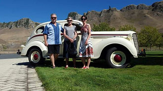 Self drive winery tour in classic Dodge, hawkes bay NZ