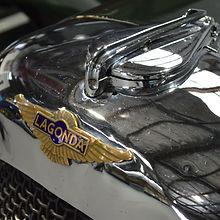 V12 Lagonda of David Brock-Jest in the Hooters Napier Showroom