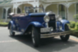 An old Oldsmobile stopped off at  Hawke's Bay Winery