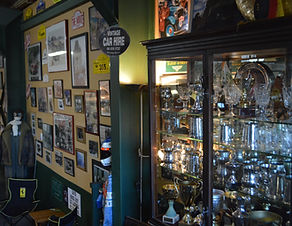 Hooters Napier showroom is full of stories and memorabilia.