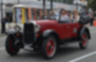 Cruising Napier in the best classic car tour