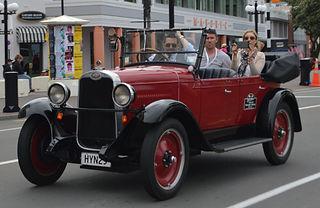 Cruising Napier in the best classic car tour