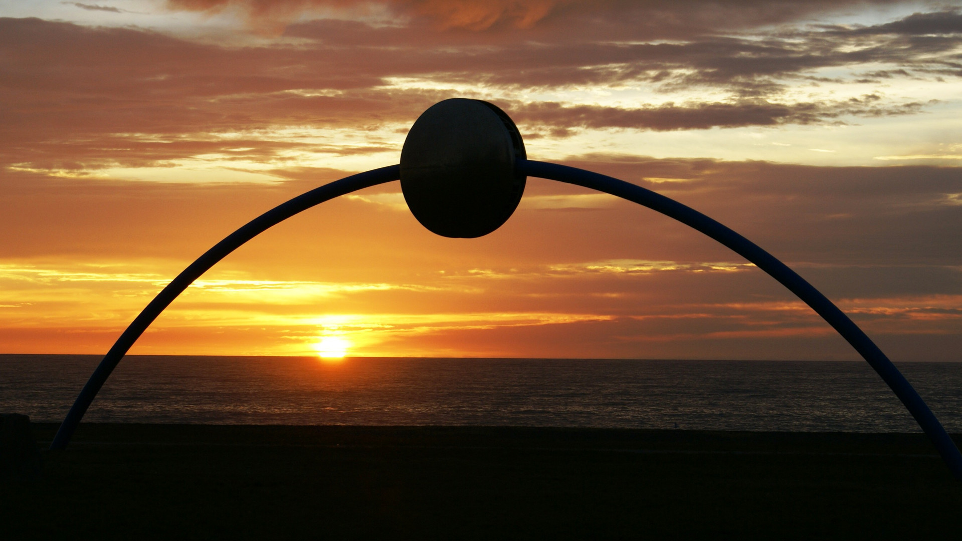 Millenium Disc on Napier Beachfront