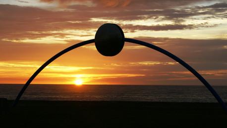 Millenium Disc on Napier Beachfront